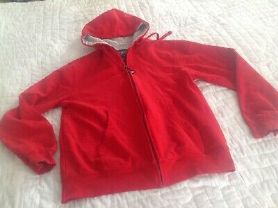 $ CDN6.21 • Buy Charles River Apparel Hoodie Size Small Zipper Front Sweatshirt Red
