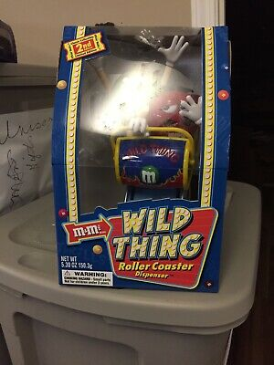 $34.80 • Buy M&M's Wild Thing Roller Coaster Dispenser Limited Edition Rare