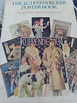 $ CDN32.19 • Buy J C LEYENDECKER POSTER BOOK 1975 1St EDITION COMPLETE NORMAN ROCKWELL.SHIPS FAST