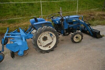 £3500 • Buy Compact Tractor Iseki TS190 With Front End Loader & Rotavator