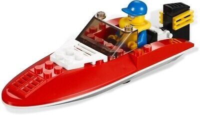 £4 • Buy LEGO CITY HARBOUR: SPEEDBOAT (4641): 100% COMPLETE With INSTRUCTIONS