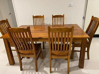 AU50 • Buy 6 Seater Dining Table And Chairs