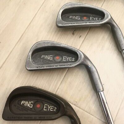 AU507.77 • Buy PING EYE2 9 Irons # 2-9 SW A141 From Japan Sports Leisure By Sports Golf Clubs