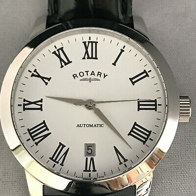 £38 • Buy Rotary Gents Automatic Wristwatch With Date Display In Original Packaging.