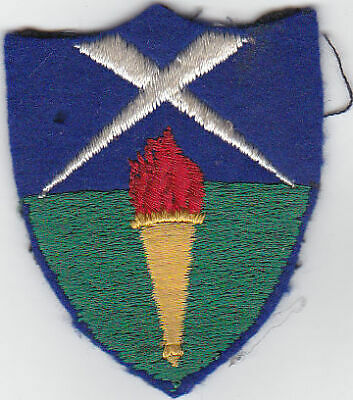 £7 • Buy British Army Cloth Formation Sign,Aldershot District. Embroided.