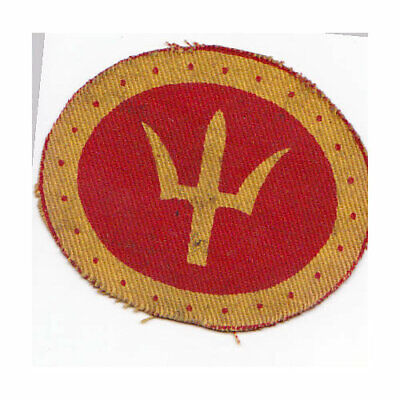 £6 • Buy British Army Cloth Formation Sign, 44 Division, Printed.