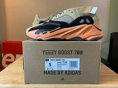 $ CDN379.63 • Buy Adidas Yeezy Boost 700 Enflame Amber Size 5 Free Fast Shipping