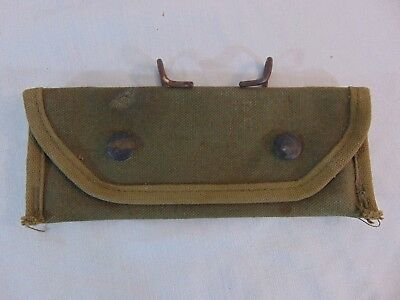 $39.99 • Buy 1945 WWII US Army M1 Grenade Launcher Sight Canvas Carrying Case Bearse 7160198