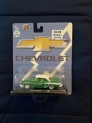 $41 • Buy M2 Machines Auto Drivers 1957 Chevrolet Bel Air Chase 1/750.