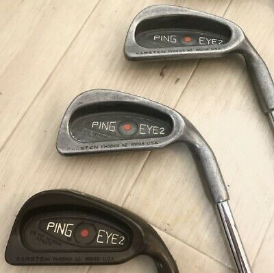 AU541 • Buy PING EYE2 9 Irons # 2-9 SW A141 From Japan Sports Leisure By SPORTS Golf Clubs