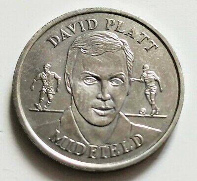 £1.49 • Buy Official England Squad 1996 Medal Collection - David Platt - Collectable Coin