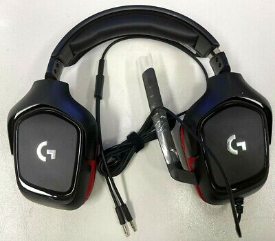 AU3.25 • Buy Logitech G332 Stereo Wired Gaming Headset Headphones PC PS4 Xbox Nintendo 3.5mm