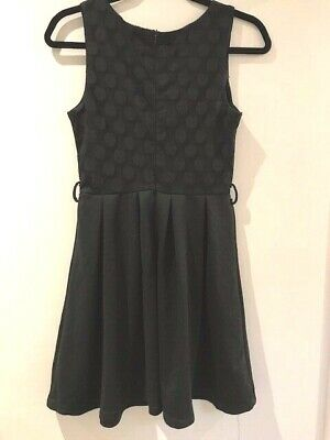AU17.95 • Buy LADIES TEENS PURE HYPE BLACK PARTY CLUBBING DRESS Size SMALL S 8 10