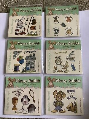 £5.25 • Buy Joanna Sheen Unmounted Rubber Stamps X 6 Sets New In Packet