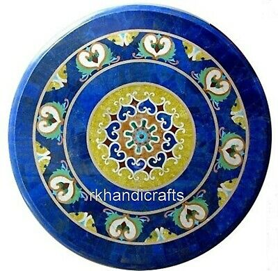 AU2498.16 • Buy 30 Inches Round Marble Dining Table Top With Beautiful Design Coffee Table Top