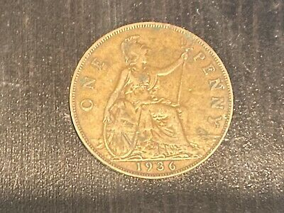 £1 • Buy 1936 George V One Penny Coin