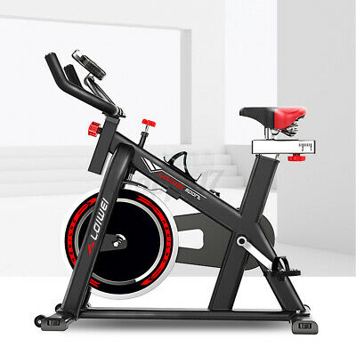 £119.90 • Buy 150KG Exercise Bikes Indoor Cycling Spin Bike Bicycle Fitness Workout Cardio UK