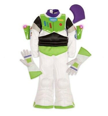 £29.04 • Buy Disney Store BUZZ LIGHTYEAR Light-Up Costume Size 4 - Toy Story - Authentic