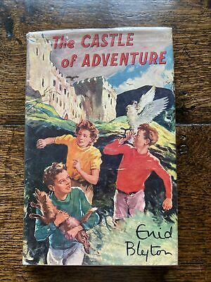 £8.99 • Buy The Castle Of Adventure Enid Blyton With Dust Jacket Vintage
