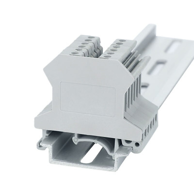 £4.30 • Buy 10Pcs Din Rail Screw Terminal Blocks Connector Accessories End Cover Plate