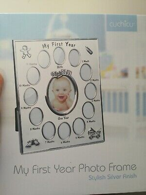 £15 • Buy My First Year Photo Frame Baby