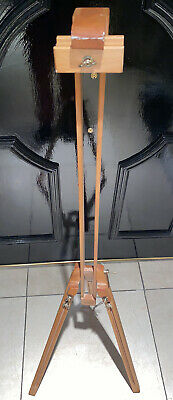£64.99 • Buy MABEF Made In Italy Wooden Tripod Studio Canvas Easel Art Stand