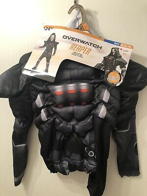 $24.91 • Buy Overwatch Reaper Kids Costume Size Medium M (8-10) Classic Muscle Chest Disguise