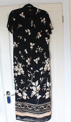 £4.60 • Buy Vintage M And S. chinese Style Dress. Cruise. Party. Long Length. Size 12/14