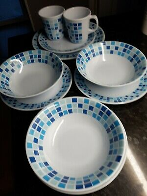£9.95 • Buy Camping Tableware. Melamine Plates, Cups, Bowls.