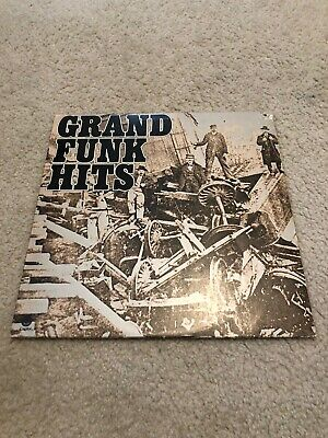 £7.25 • Buy Gfr Grand Funk Hits 33 Rpm Vinyl Lp 1976 Capitol #st-11579 With Poster