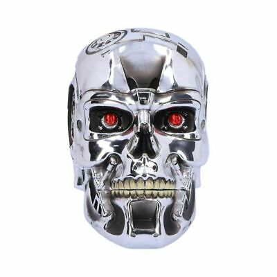 £24.95 • Buy T-800 TERMINATOR 2 Officially Licensed Head Box 18cm Nemesis Now
