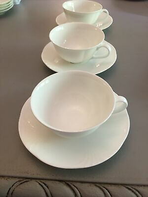 £25 • Buy X3 Villeroy And Boch Arco Weiss Tea Cup And Saucer