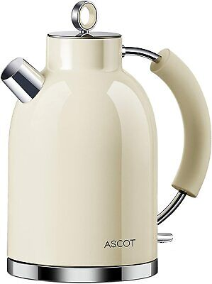 £27.99 • Buy ASCOT Kettle-Electric-Cordless-Fast-Boil, Stainless Steel Filter Kettles 3000w