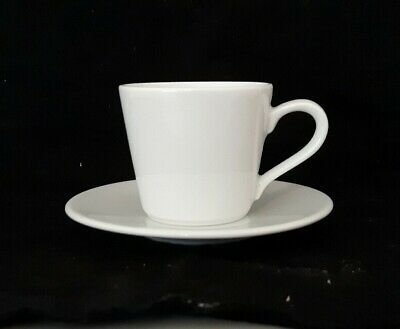 £1 • Buy JOHN LEWIS White Expresso Demitasse Coffee Cup And 2 Saucers