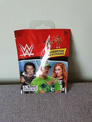 £3.99 • Buy WWE Mystery Superstar Action Figure Keychain / Keyring - New & Sealed