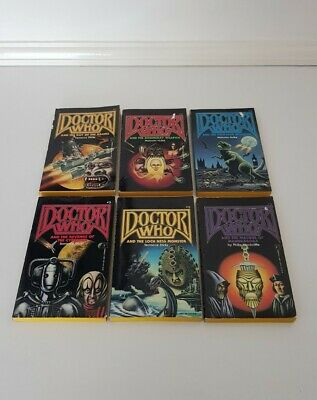 £29.99 • Buy 6 X Doctor Who P/B Books, Pinnacle Fiction [1989, US] Inc Day Of The Daleks ...