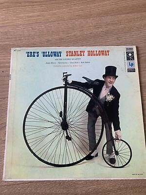 £0.99 • Buy Stanley Holloway And The Loverly Quartet Eres Olloway 1958 Excellent Flipback LP