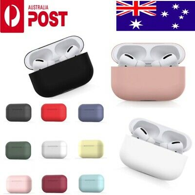 AU4.95 • Buy Apple AirPods PRO 3 Silicone Gel Case Protective Shockproof Skin Cover AirPod 3