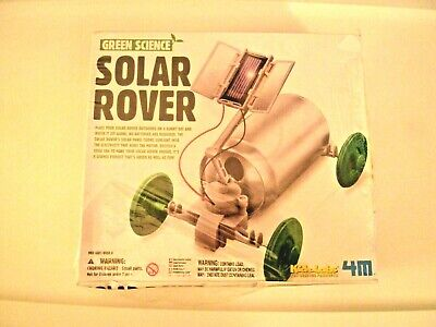 AU39.53 • Buy Green Science Solar Rover Experiment Kit Home Kid School Lab Project NEW  Cool