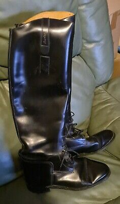 £35 • Buy Vintage Hawkins Made In England Riding Boots Size 6