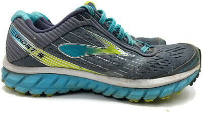 $ CDN30.86 • Buy Brooks Ghost 9 Evolution Womens Grey Blue Athletic Running Walking Shoes Size 8