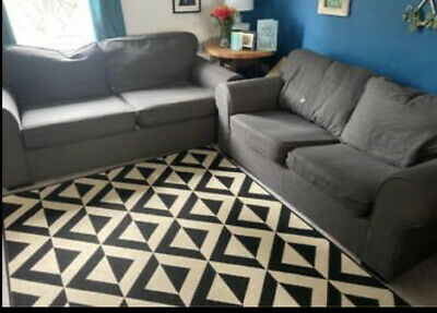 £200 • Buy Grey 3 Seater And 2 Seater( Sofa Bed)