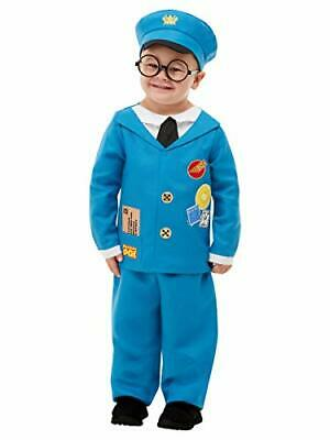 $32.74 • Buy Smiffys 50877T2 Officially Licensed Postman Pat Costume, Boys, Blue, Toddler - A