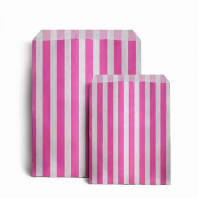 £2.99 • Buy CANDY STRIPE PAPER BAGS SWEET FAVOUR BUFFET GIFT SHOP PARTY Small Medium