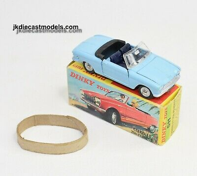 £260 • Buy French Dinky 511 Peugeot 204 Virtually Mint/Boxed