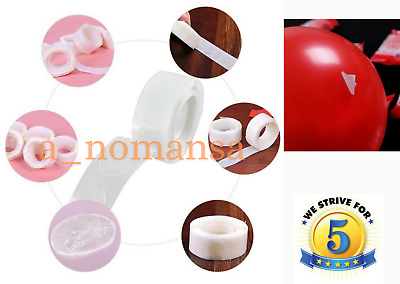 £2.99 • Buy Adhesive 100 Dots Sticker Tape Double Sided Glue Sticky DIY Balloon Clear Decor