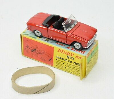 £245 • Buy French Dinky 511 Peugeot 204 Virtually Mint/Boxed