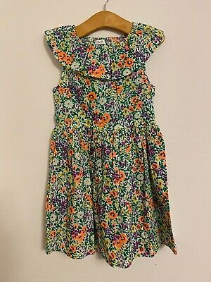 £12.95 • Buy NEXT Ditsy Floral PRINT Flower PROM DRESS 4 YEARS GIRLS COTTON Party 1950s