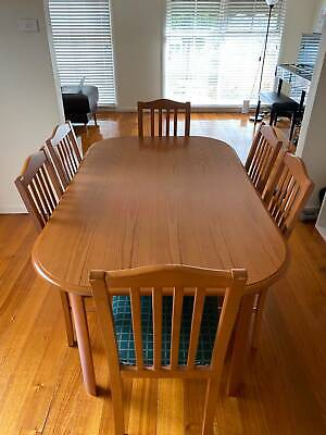 AU180 • Buy Wood Dining Table Set (includes 6 Chairs)