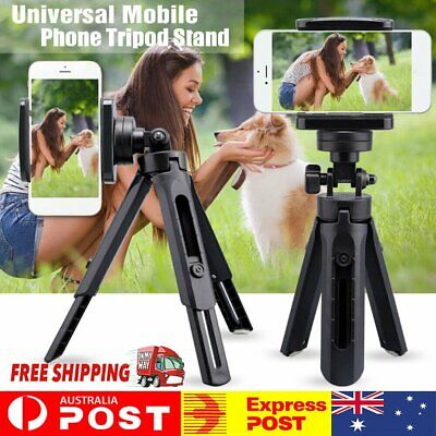 AU11.62 • Buy Universal Flexible Tripod Mount Holder Cradle Stand Bracket For Mobile Phone #T